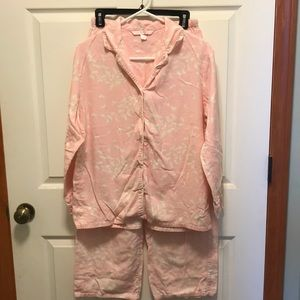 Victoria's Secret flannel pajama set
